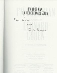 Sylvie Simmons livre Leonard Cohen